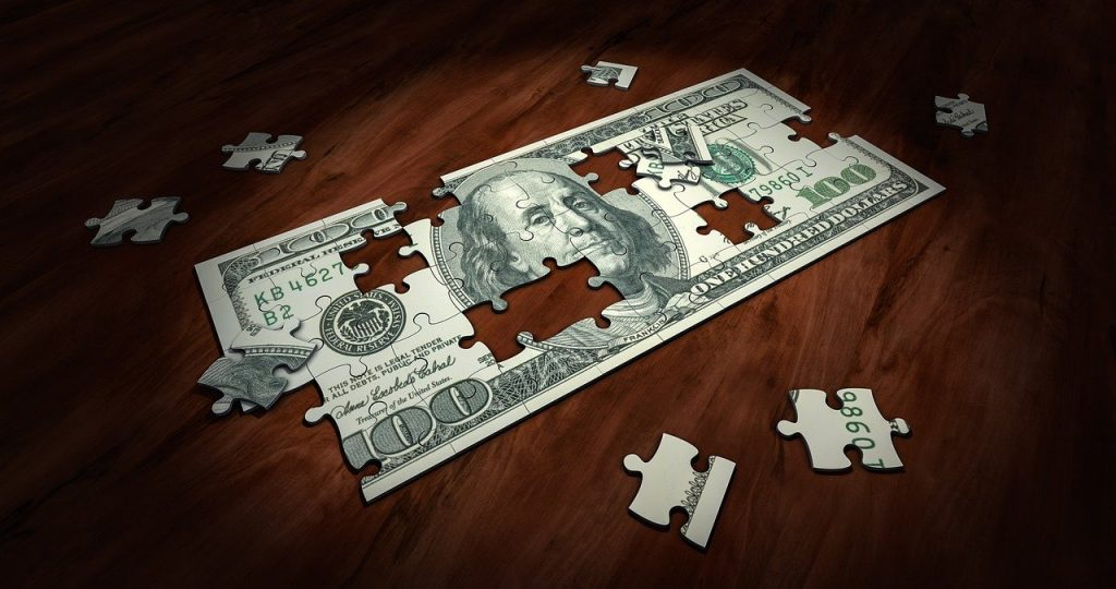 puzzle, money, business